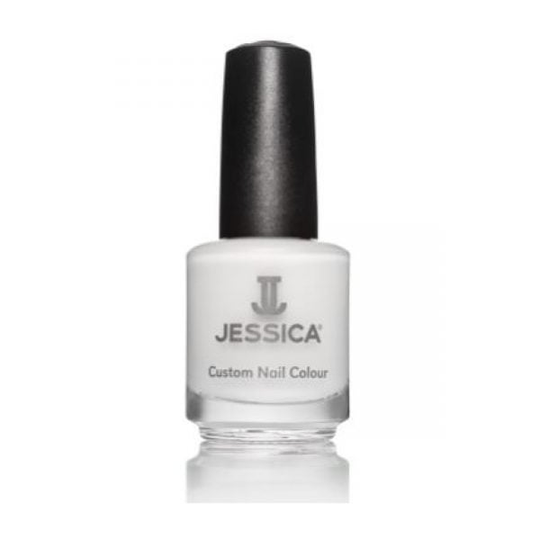 Jessica Nail Polish Chalk White Bottle